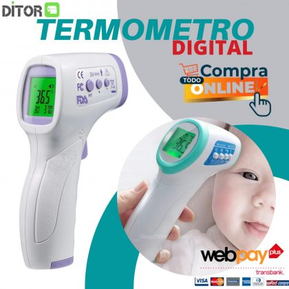 TERMOMETRO DIGITAL SIN CONTACTO