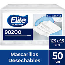 MASCARILLAS BLANCAS ELITE X 50 CERTIFICADAS